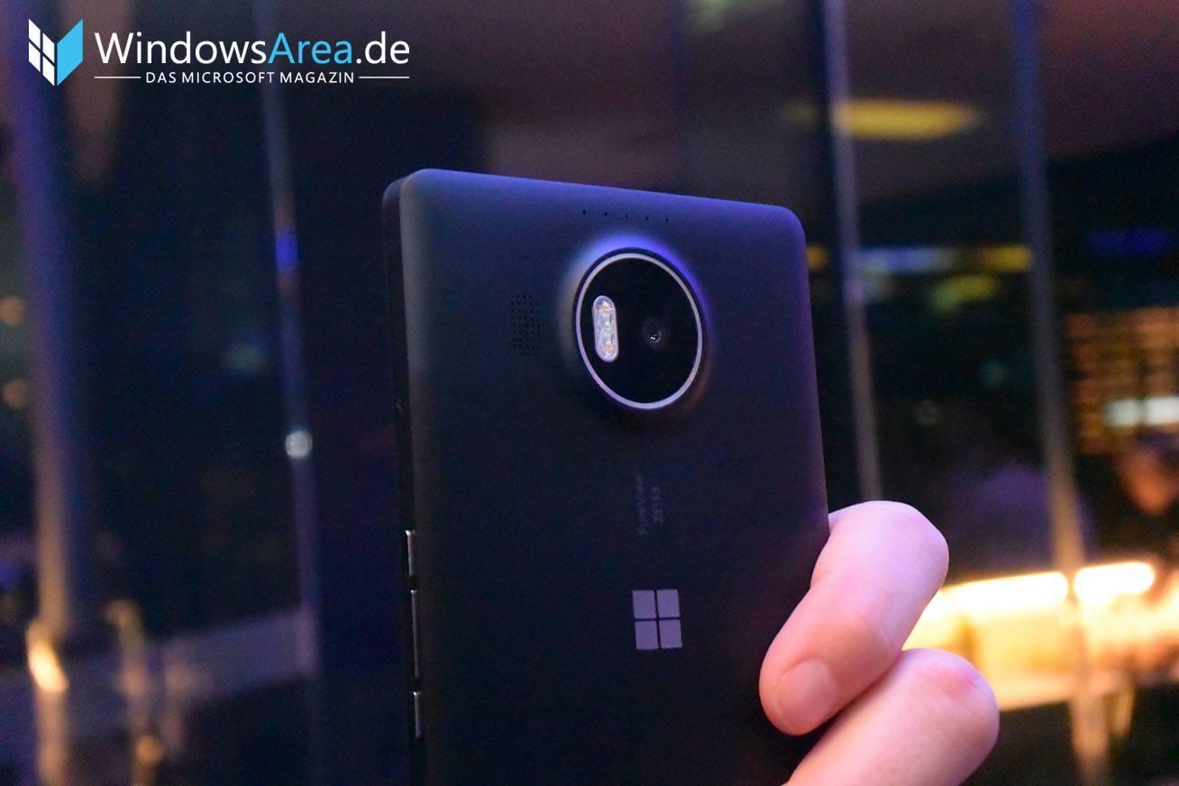 Microsoft Lumia 950 XL Schwarz Kamera