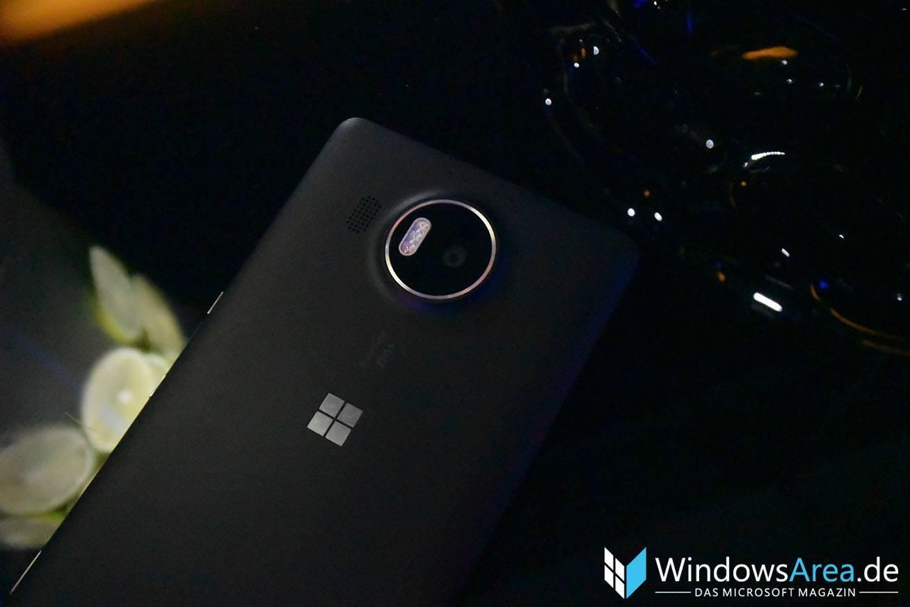 Microsoft Lumia 950 XL Schwarz kamera Rückseite