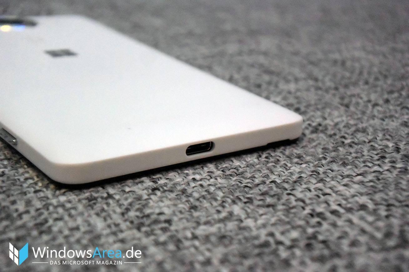 Microsoft Lumia 950 usb typ c anschluss