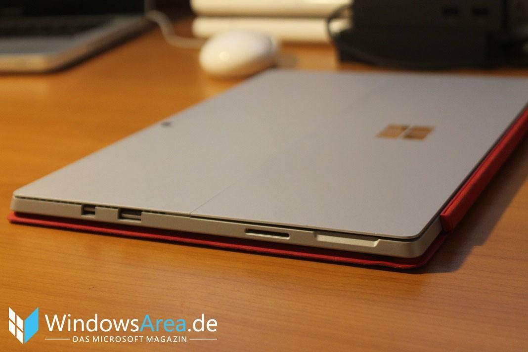Microsoft Surface Pro 4 Rückseite Seite