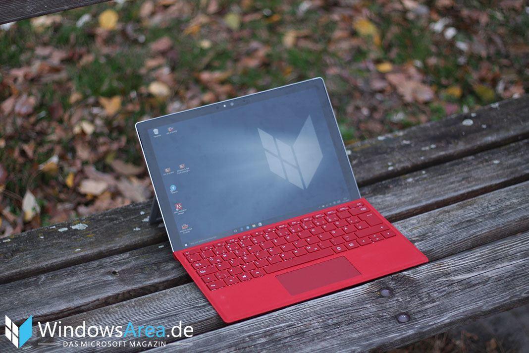 Microsoft Surface Pro 4 WindowsArea.de Wallpaper