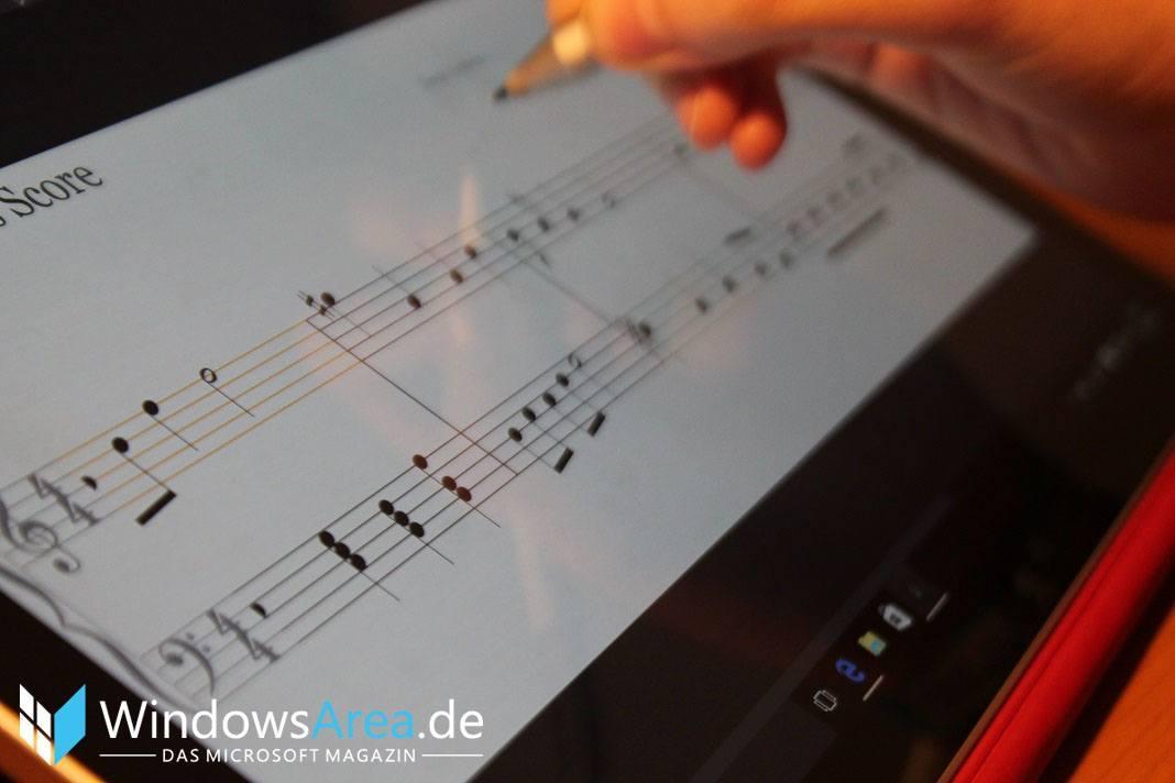 Microsoft Surface Pro 4 stift