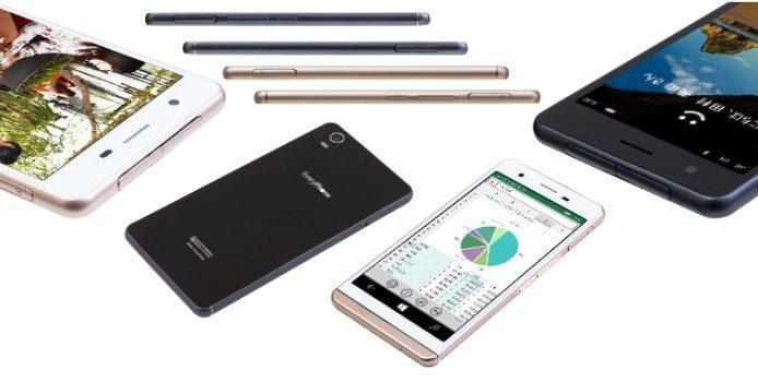 """Japanischer Hersteller Yamada Denki stellt das """"Every Phone"""" mit Windows 10 Mobile vor"""