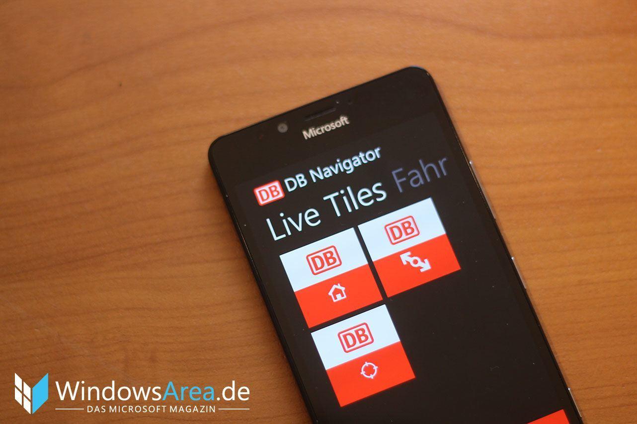 DB Navigator Deutsche Bahn App Windows Phone
