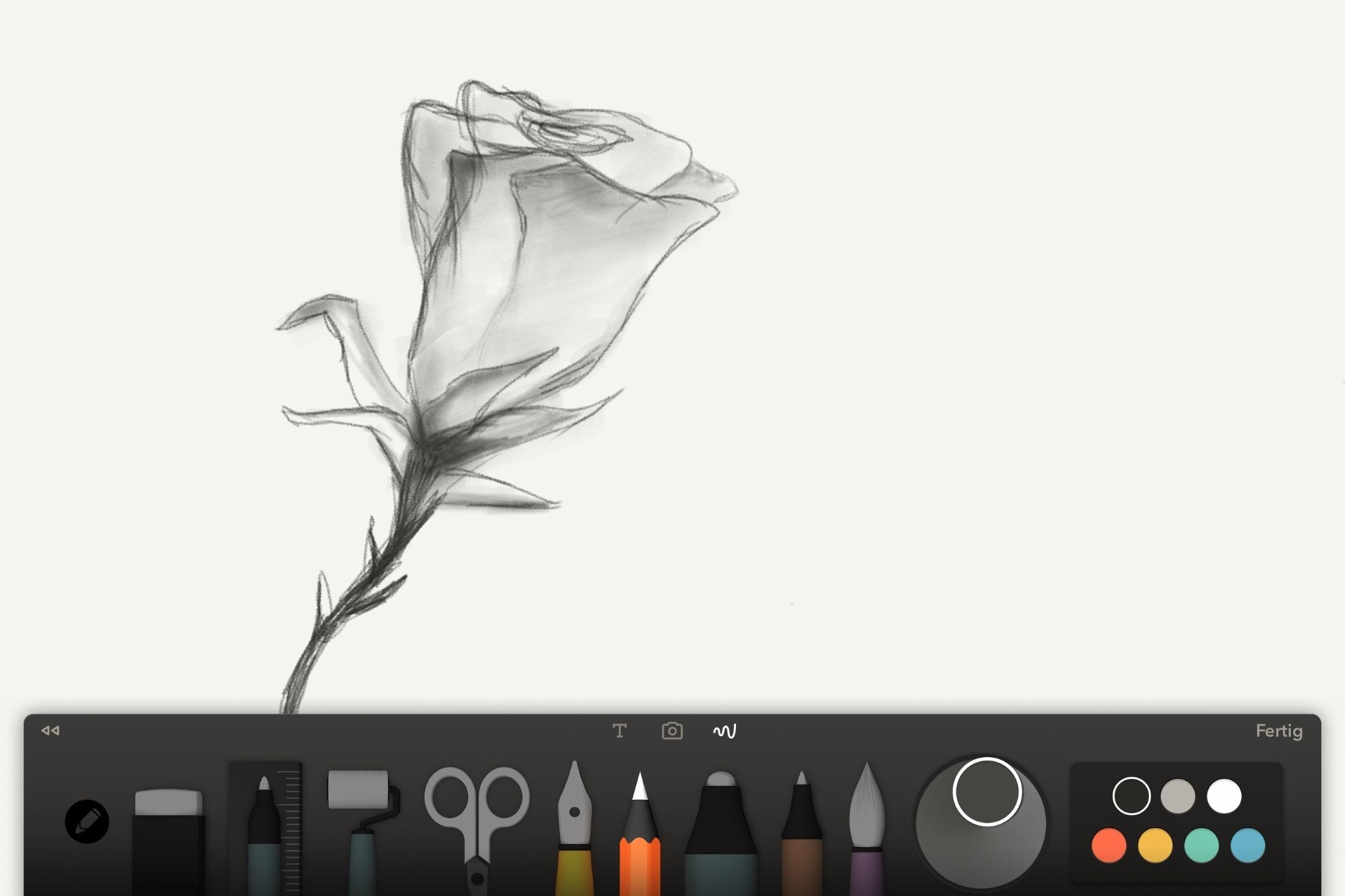 Zeichnen Apple Pencil iPad