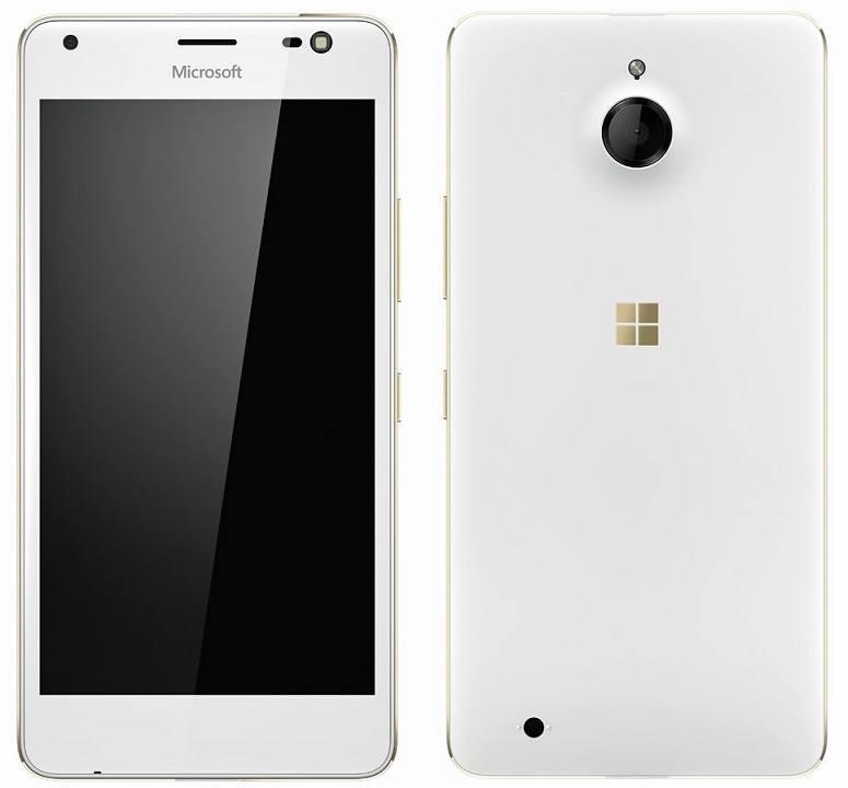 Microsoft LUmia 850 Gold leak Honjo evleaks