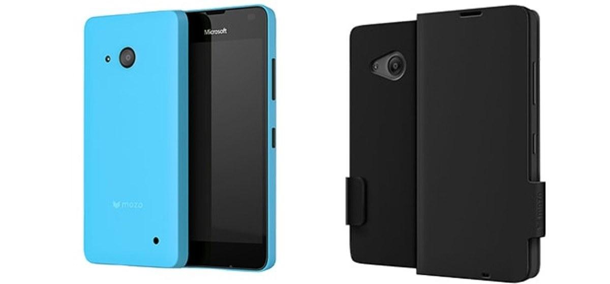 Microsoft Lumia 550 MOZO Premium Hüllen Cases
