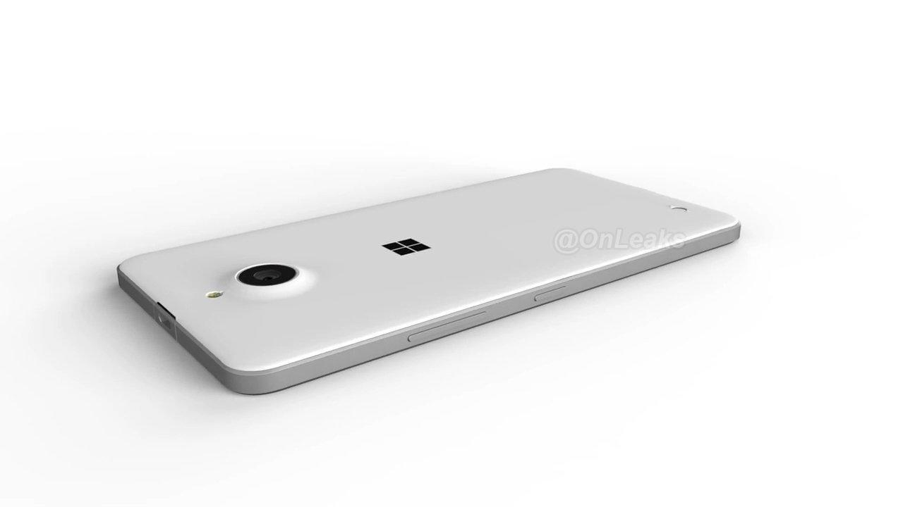 Microsoft Lumia 850 CAD Render
