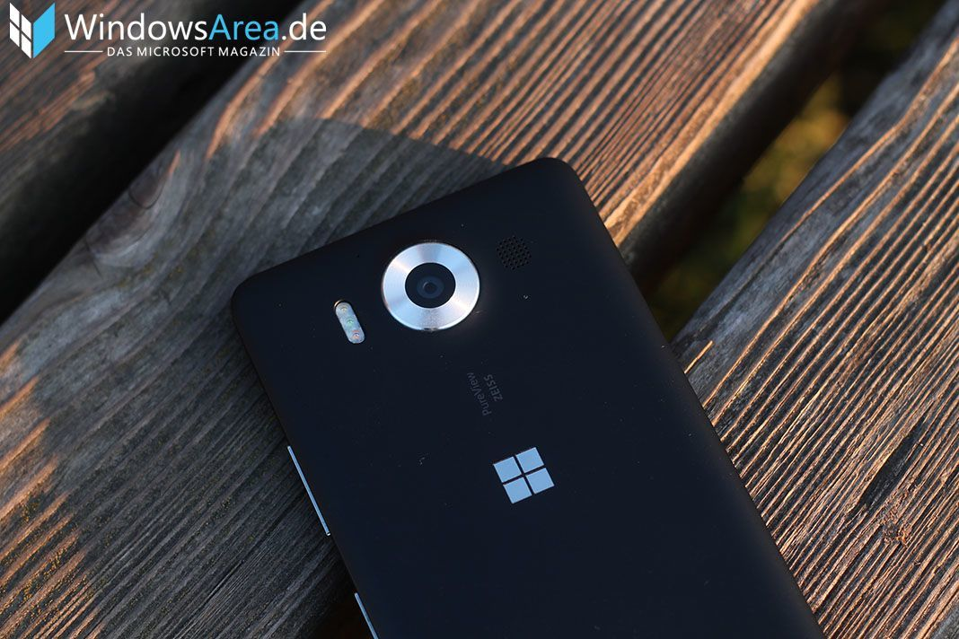 Microsoft Lumia 950 Review Kamera Kamera Ring Metallring