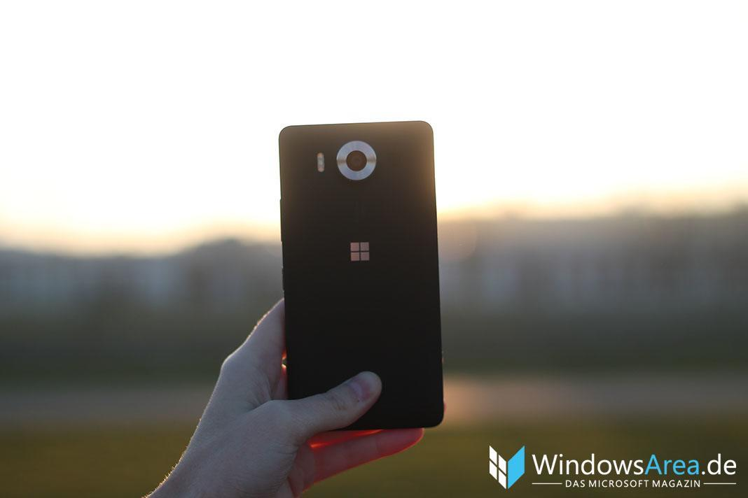 Microsoft Lumia 950 Review Rückseite
