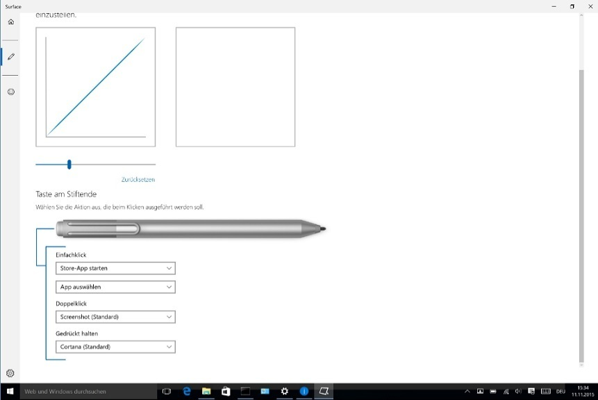 Microsoft Surface Pen App Screenshot