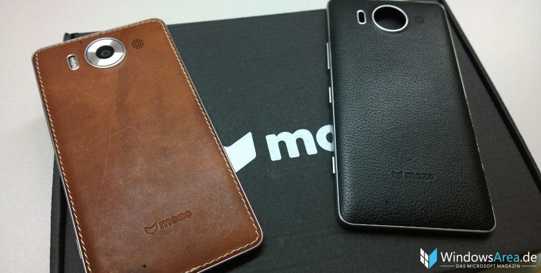 Kurztest: Mozo Ledercover für das Microsoft Lumia 950 (XL)