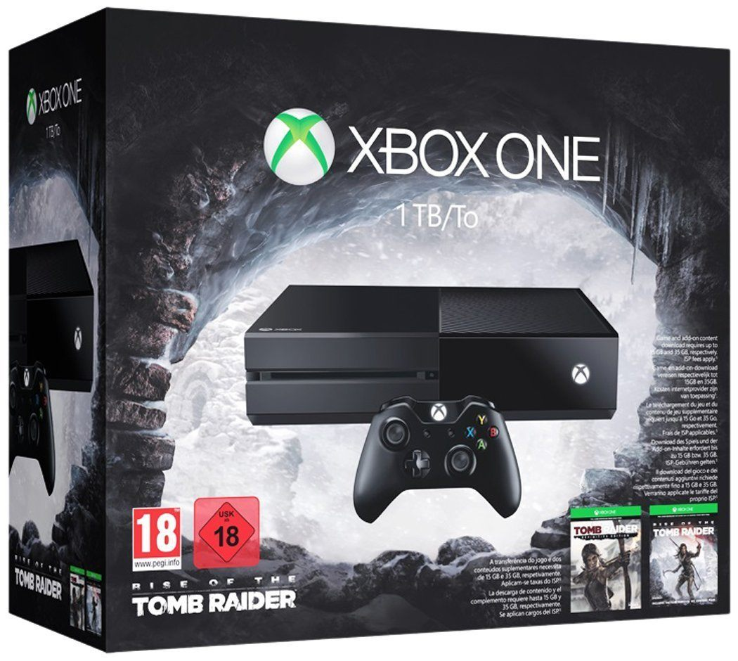 Xbox One 1TB Tomb Raider Bundle Deal Angebot