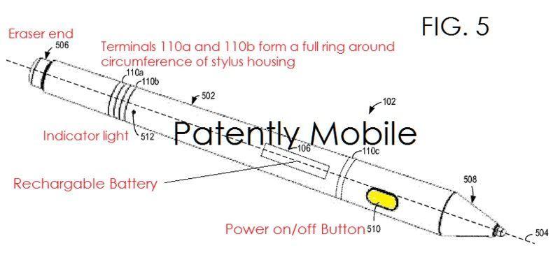 Microsoft Pen Patent 1