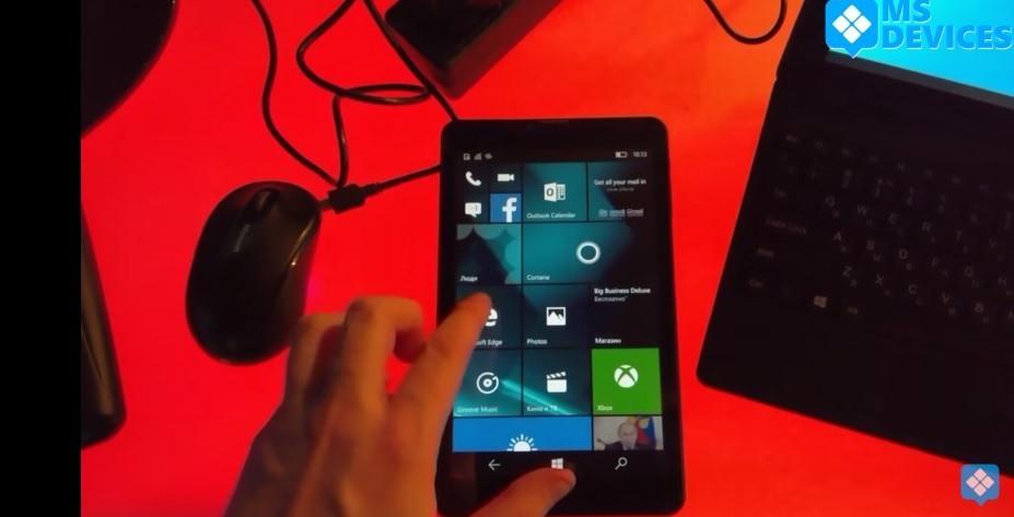 Windows 10 Mobile Tablet BB Mobile