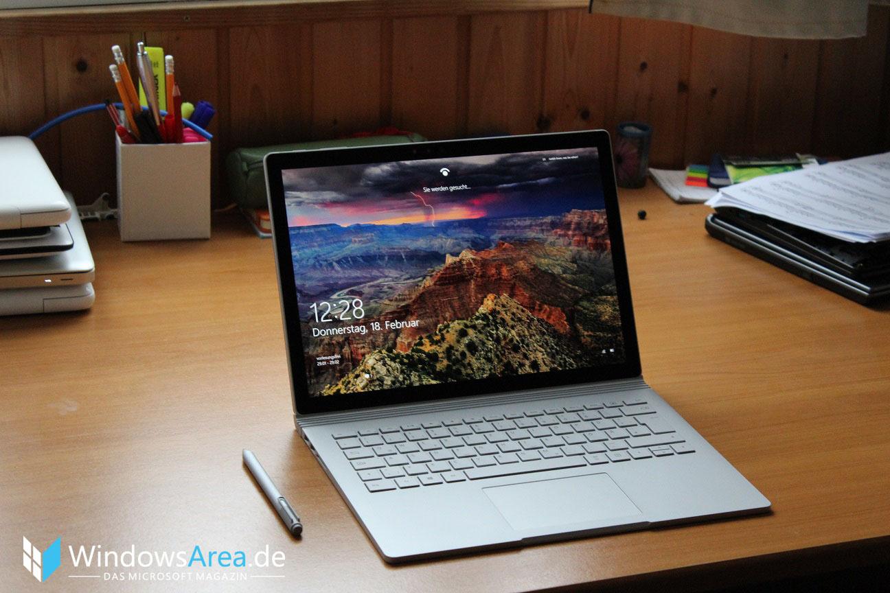 Microsoft Surface Book Review Test Deutsch 2