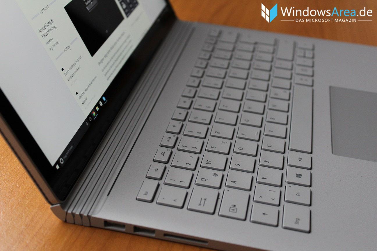 Microsoft Surface Book im Test: Laptop ohne Kompromisse