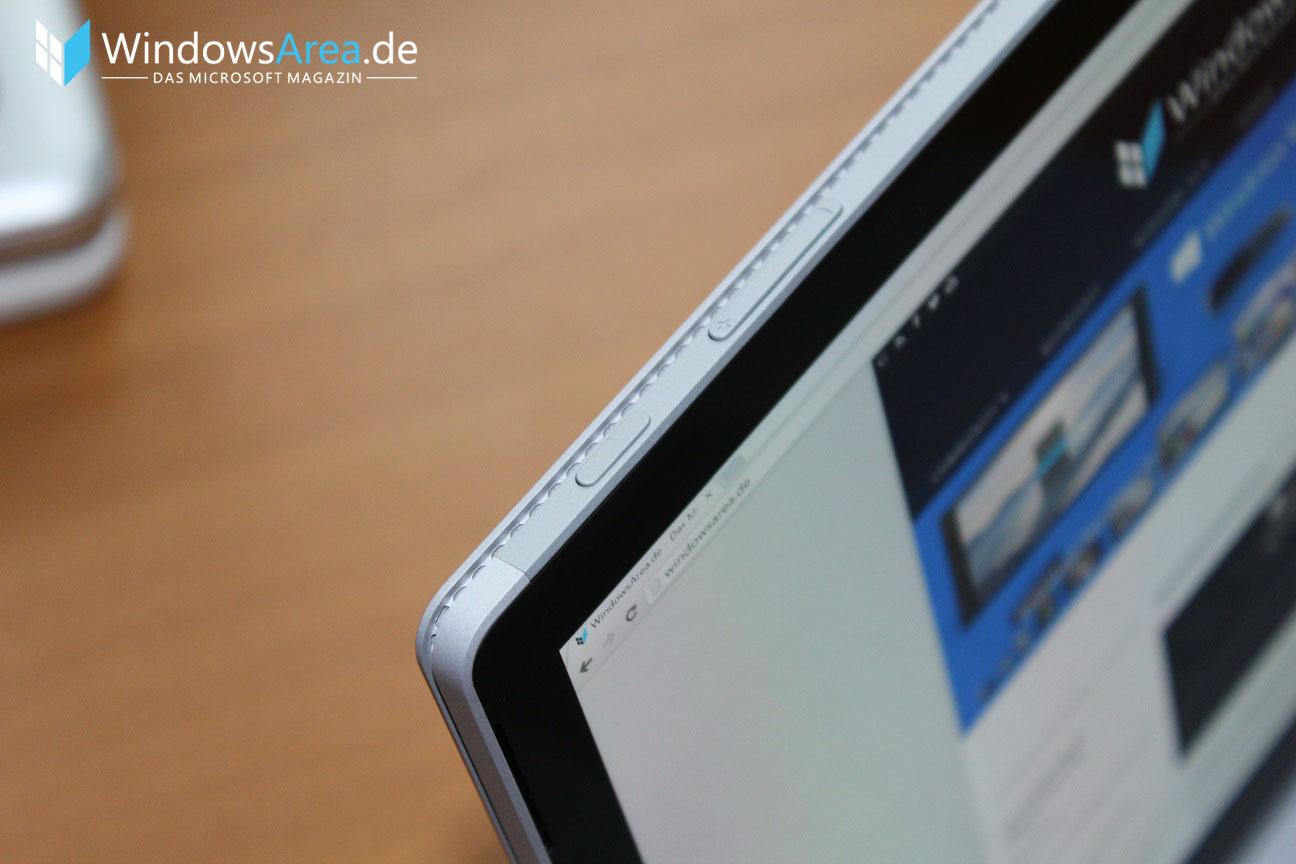 Microsoft Surface Book Review Test Deutsch Buttons Verarbeitung