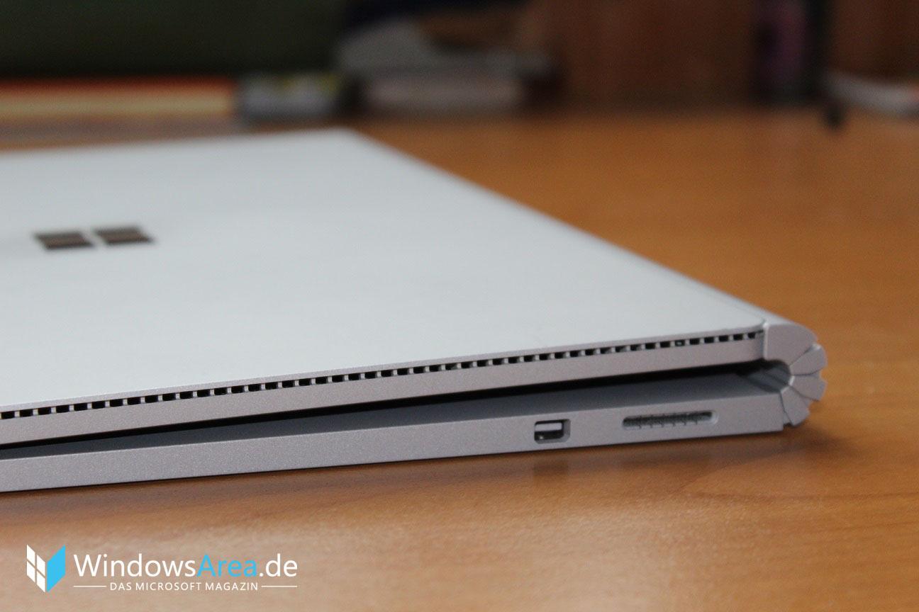Microsoft Surface Book Review Test Deutsch Spalte seite