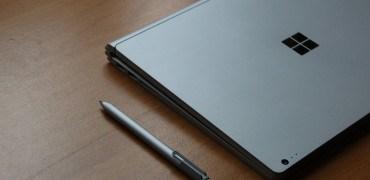 Microsoft Surface Book Review Test Deutsch Stift Seite (2)