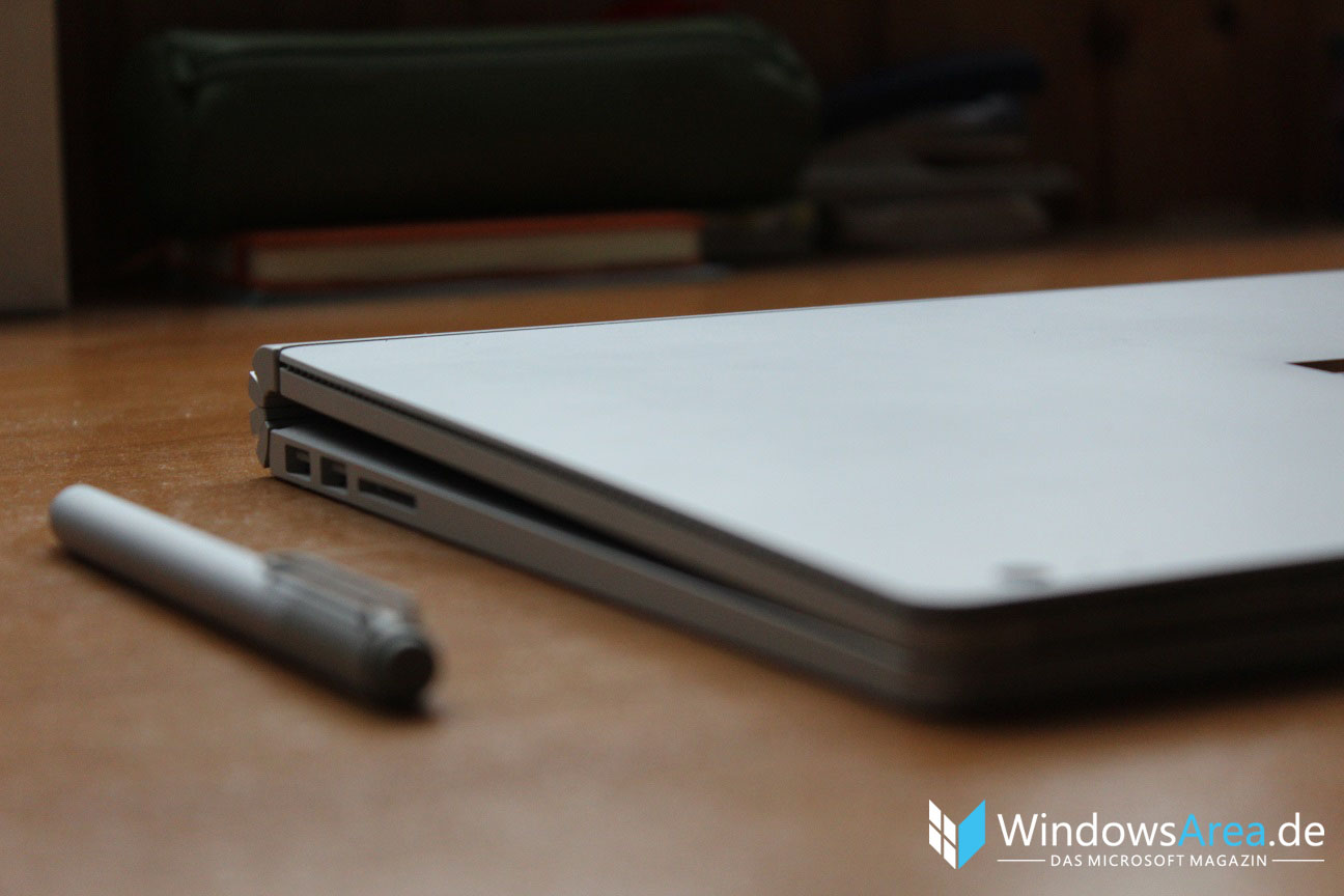 Microsoft Surface Book Review Test Deutsch Stift