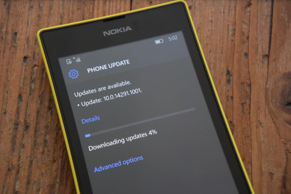 Lumia 520 Redstone
