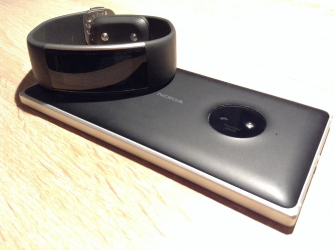 Microsoft Band 2 Lumia 830