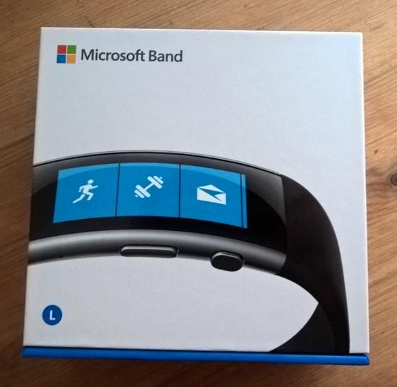 Microsoft Band 2 Verpackung
