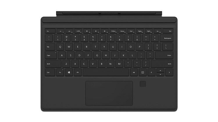 Microsoft Surface Pro 4 TypeCover Fingerprint ID