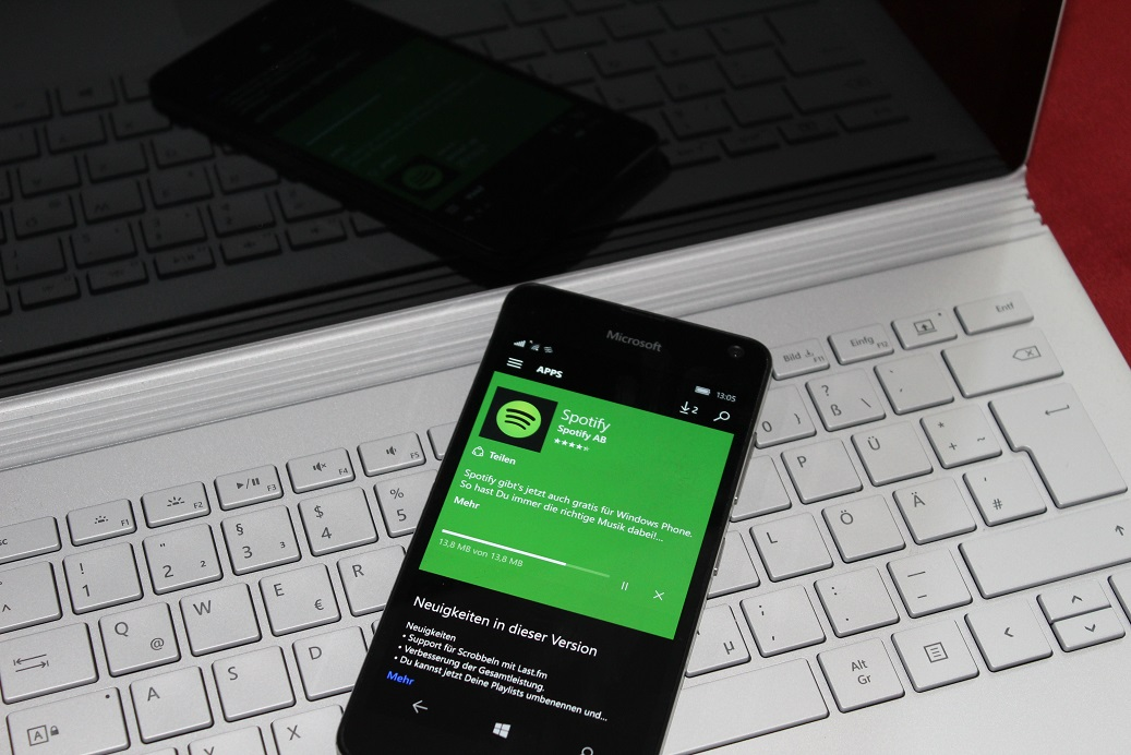 Spotify für WIndows Phone