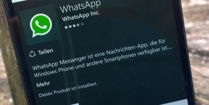 """WhatsApp bringt alten Status als """"Tagline"""" wieder"""