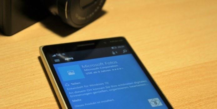 Microsoft Fotos erhält optische Verbesserungen für Windows 10 Mobile