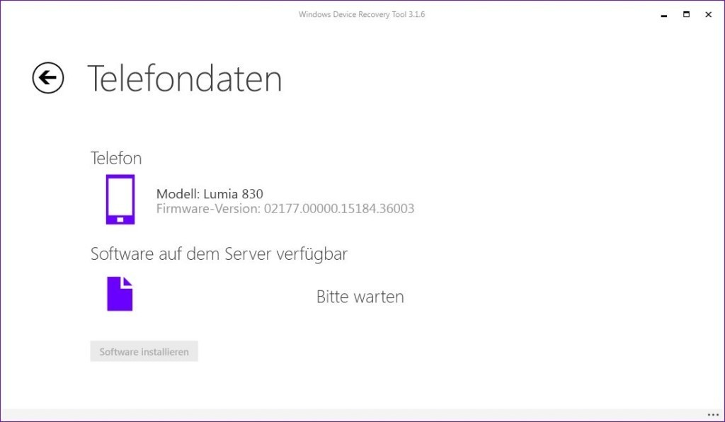 Windows Devices Recovery Tool