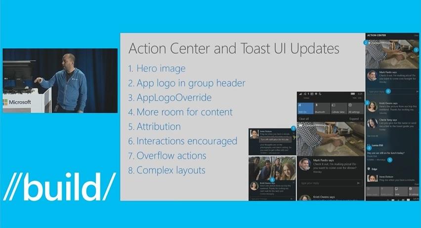 Benachrichtigungen Windows 10 Redstone Anniversary Update