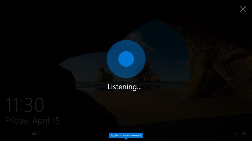 Cortana Windows 10 14328