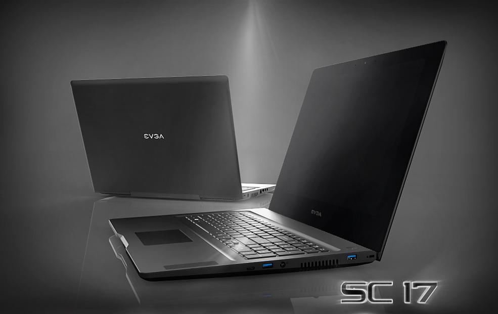 EVGA SC 17 Gaming Notebook