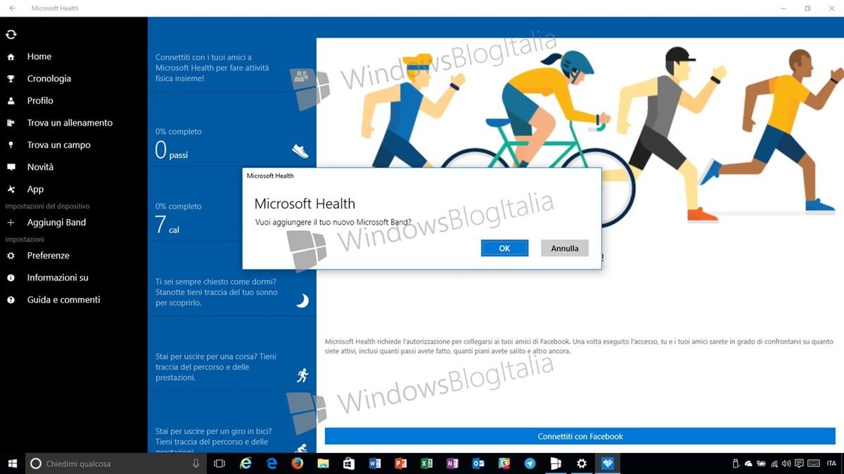 Microsoft Health Universal App