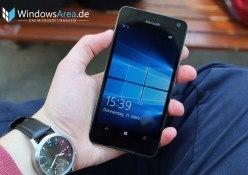 Microsoft Lumia 650 Review Test Windows 10 Mobile Lockscreen