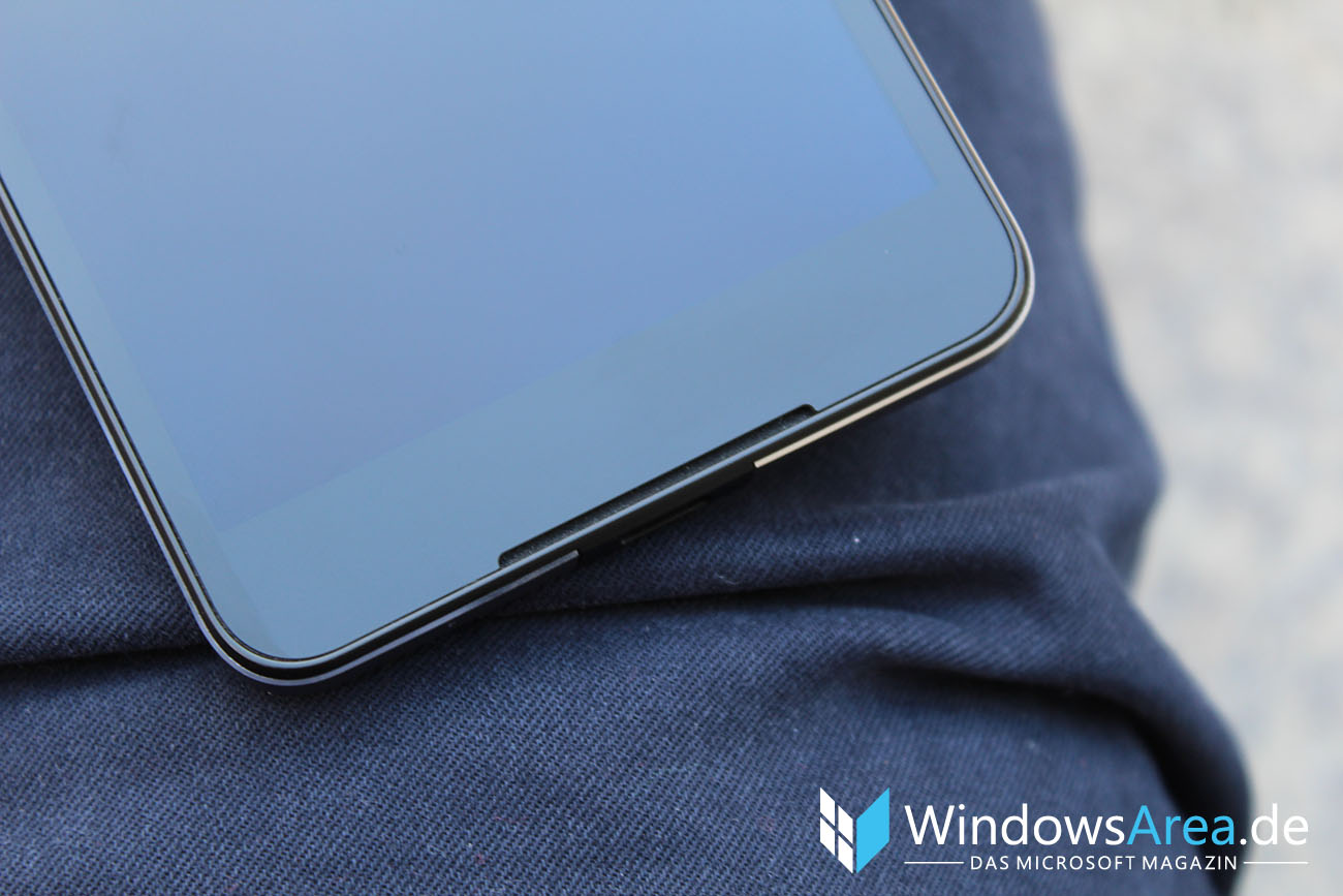 Microsoft Lumia 950 im Test Front Lautsprecher