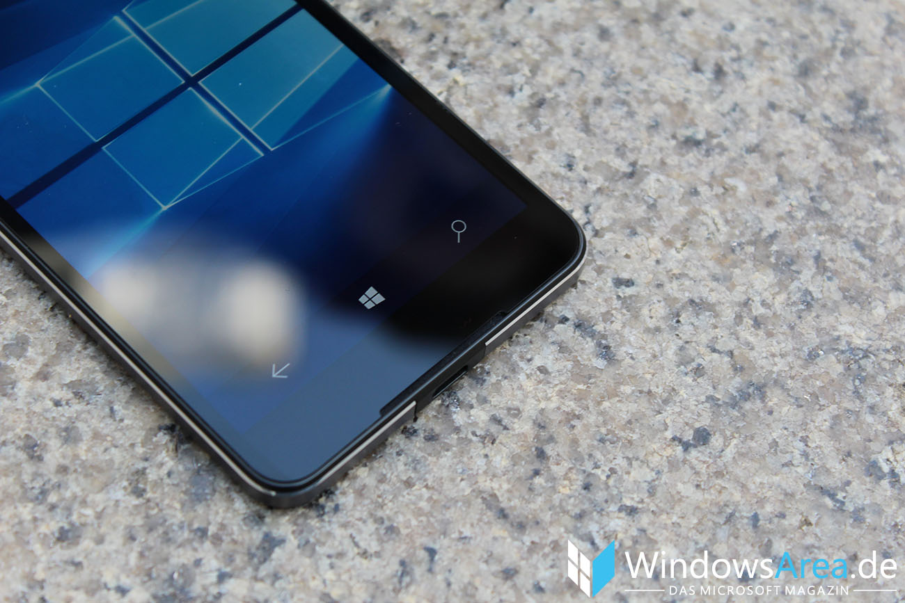 Microsoft Lumia 950 im Test Onscreen Buttons