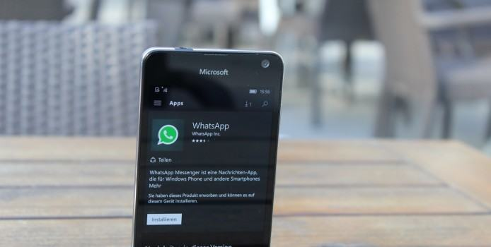 Neues WhatsApp-Feature kommt als erstes in die Windows Phone Beta-App