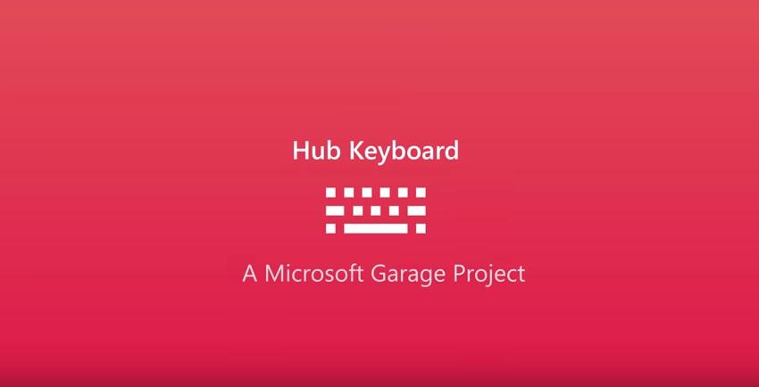 microsofthubkeyboard