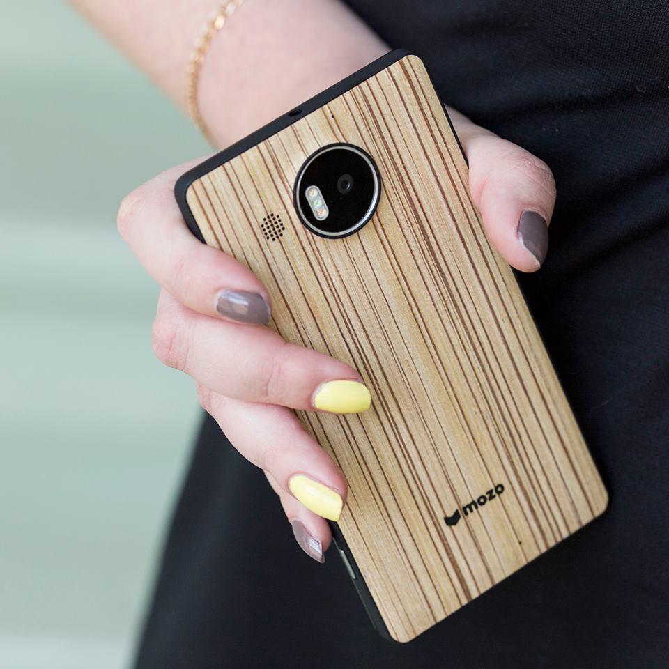 MOZO Lumia 950 XL Holz