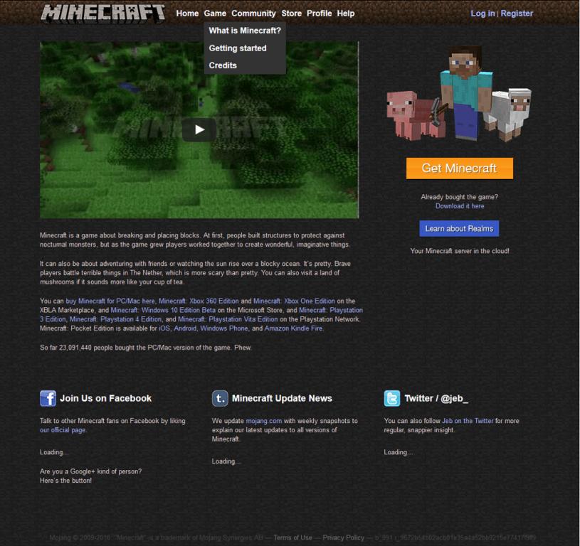 Minecraft.net alt