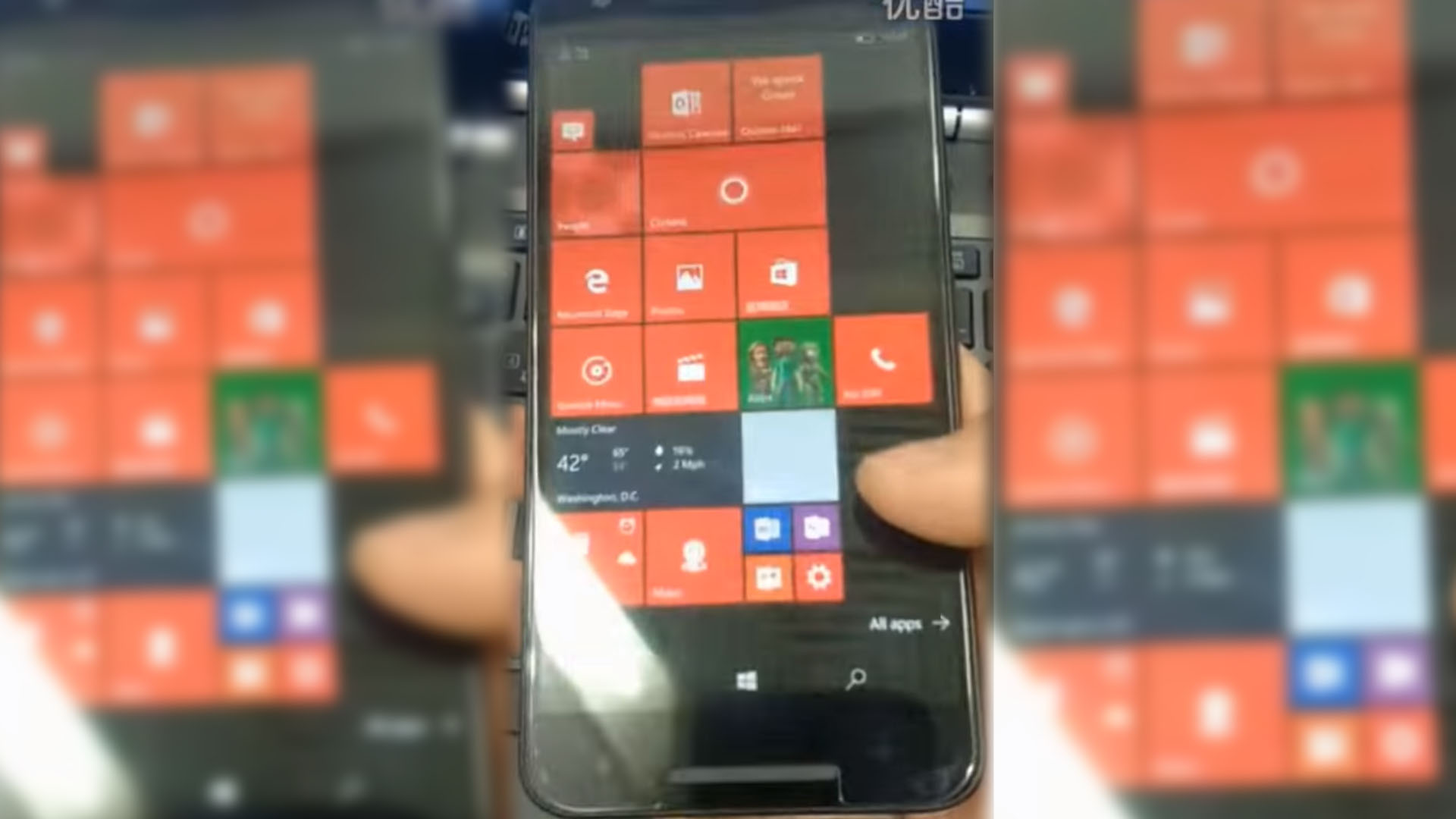 Windows 10 Mobile Nexus 5X