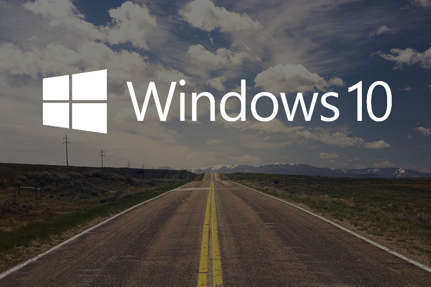 Windows 10 Road Straße Roadmap CC0