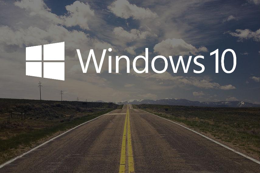 Windows 10 Road Straße Roadmap CC0