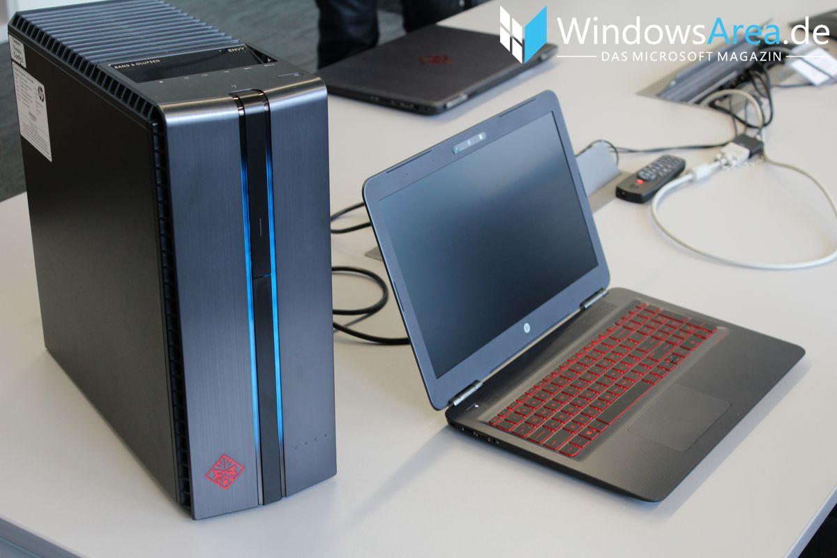 HP OMEN 15 Hands-On Erster Eindruck OMEN Desktop