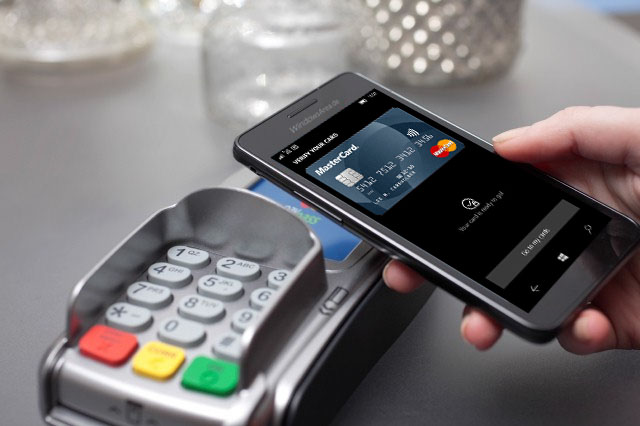 NFC Tap to Pay NFC Zahlungen Windows 10 Mobile