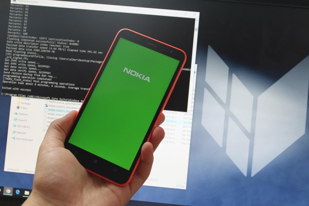 Nokia Microsoft Lumia Unbrick Tutorial 1
